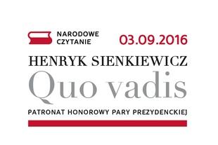 Narodowe Czytanie - Quo vadis - 2016